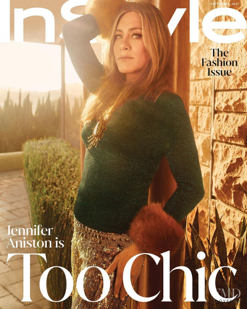 Jennifer Aniston featured on the InStyle USA cover from September 2021