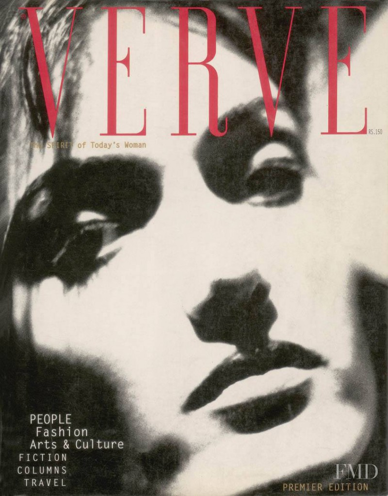 Melody DeCunha featured on the Verve cover from December 1995