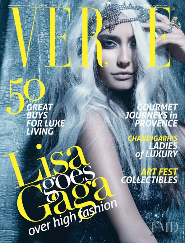 Lisa Haydon featured on the Verve cover from November 2012