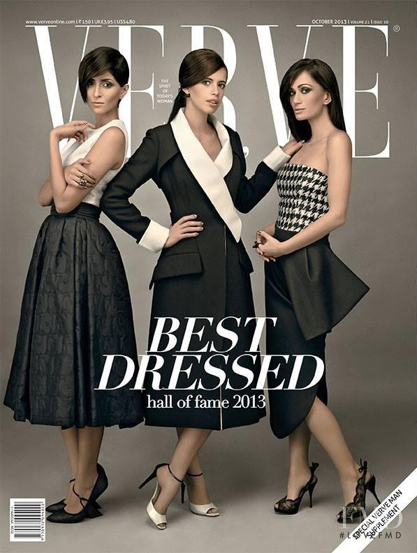 Kalki Koechlin, Natasha Chib, Drashta Sarvaiya featured on the Verve cover from October 2013