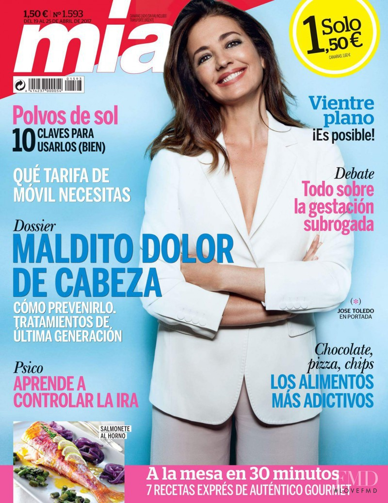 Jose Toledo featured on the Mia cover from April 2017