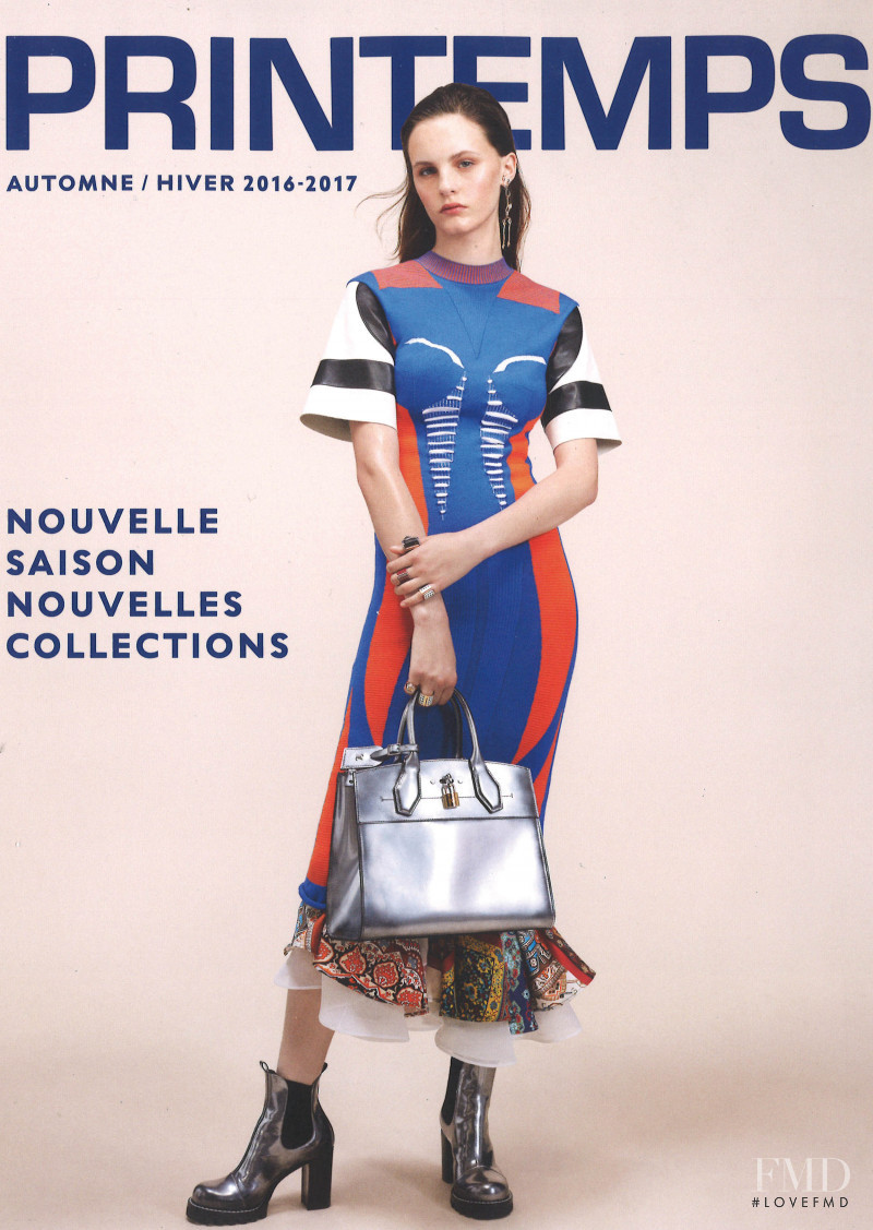 Lea Holzfuss featured on the Printemps cover from September 2016