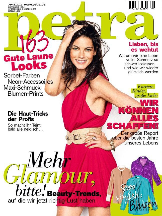 Michelle Monaghan featured on the Petra cover from April 2012