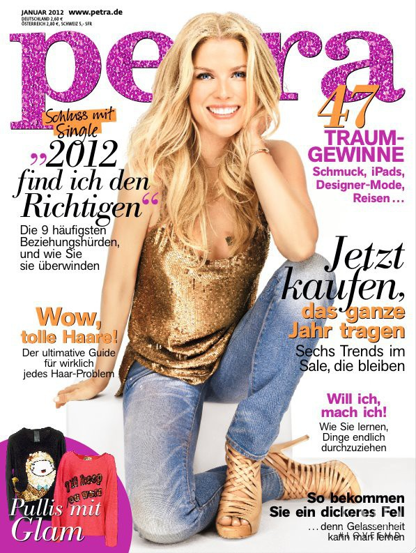 featured on the Petra cover from January 2012