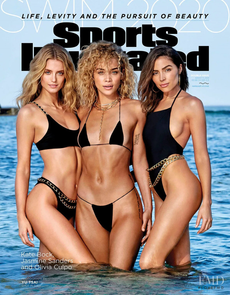 Kate Bock, Jasmine Sanders featured on the Sports Illustrated Swimsuit cover from August 2020