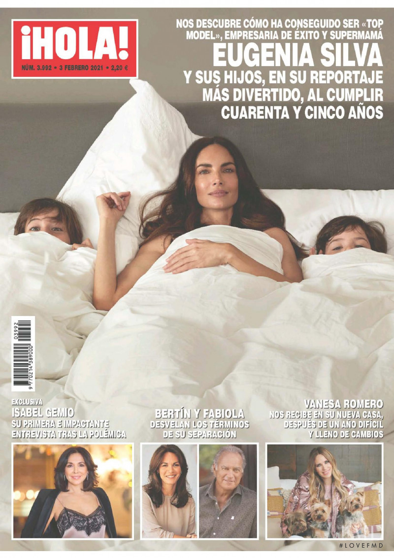 featured on the Hola! cover from February 2021