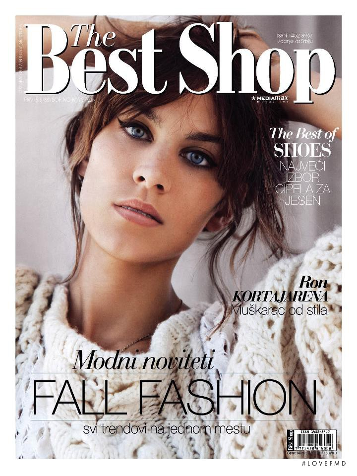 Alexa Chung featured on the The Best Shop Serbia cover from January 2013