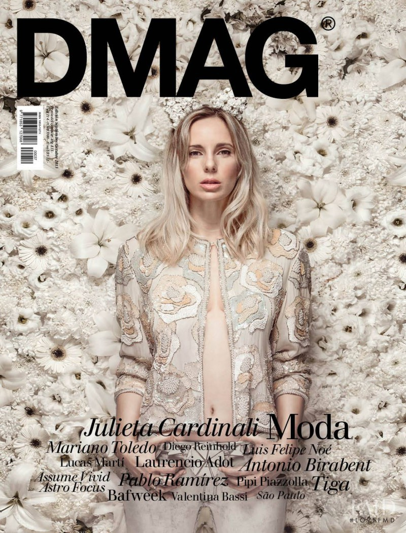 Julieta Cardinali featured on the DMAG cover from September 2013