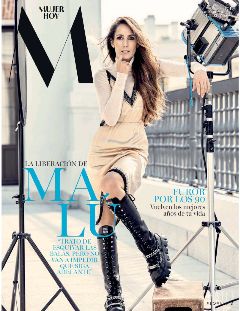 featured on the Mujer Hoy cover from October 2021