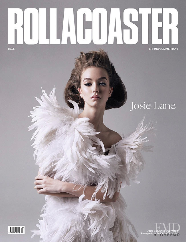Josie Lane featured on the Rollacoaster cover from March 2019