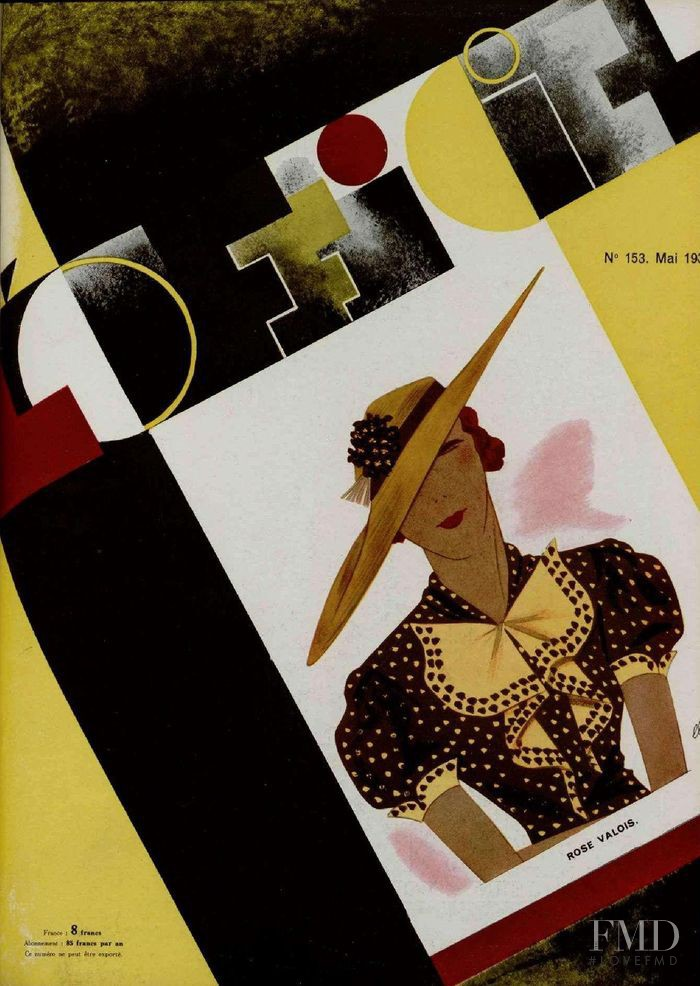 featured on the L\'Officiel France cover from May 1934