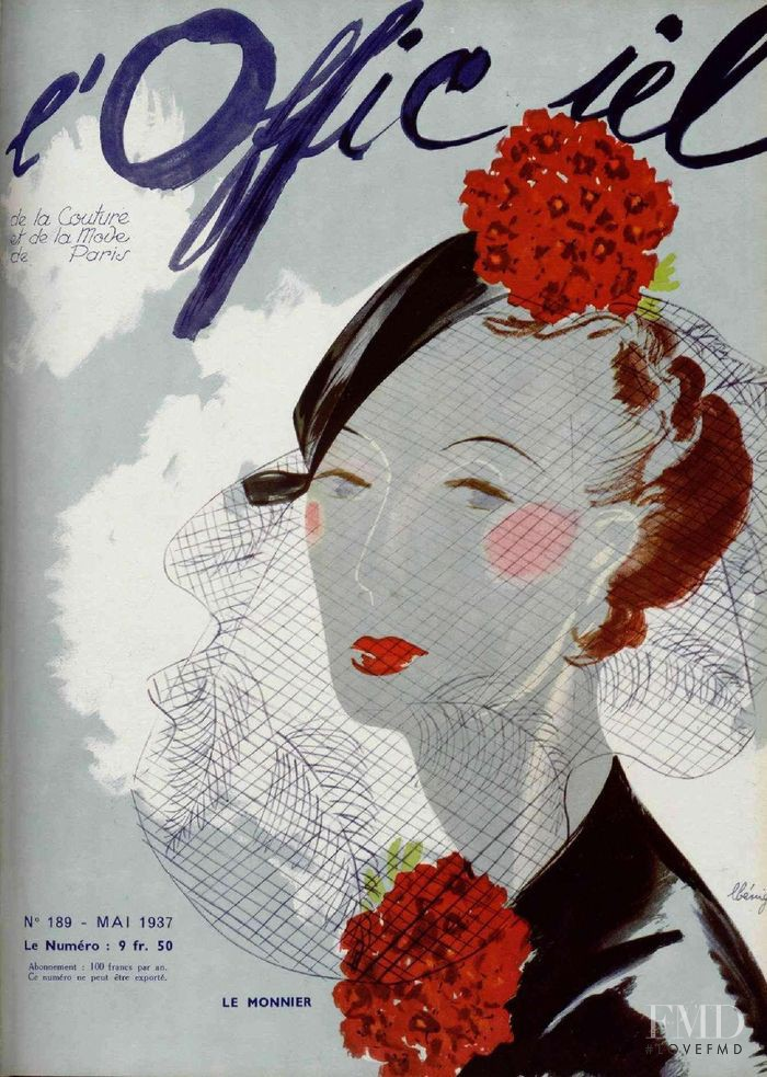featured on the L\'Officiel France cover from May 1937