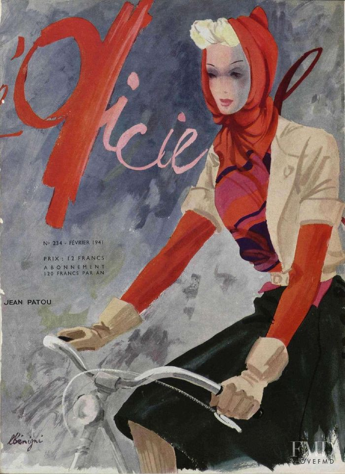 featured on the L\'Officiel France cover from February 1941