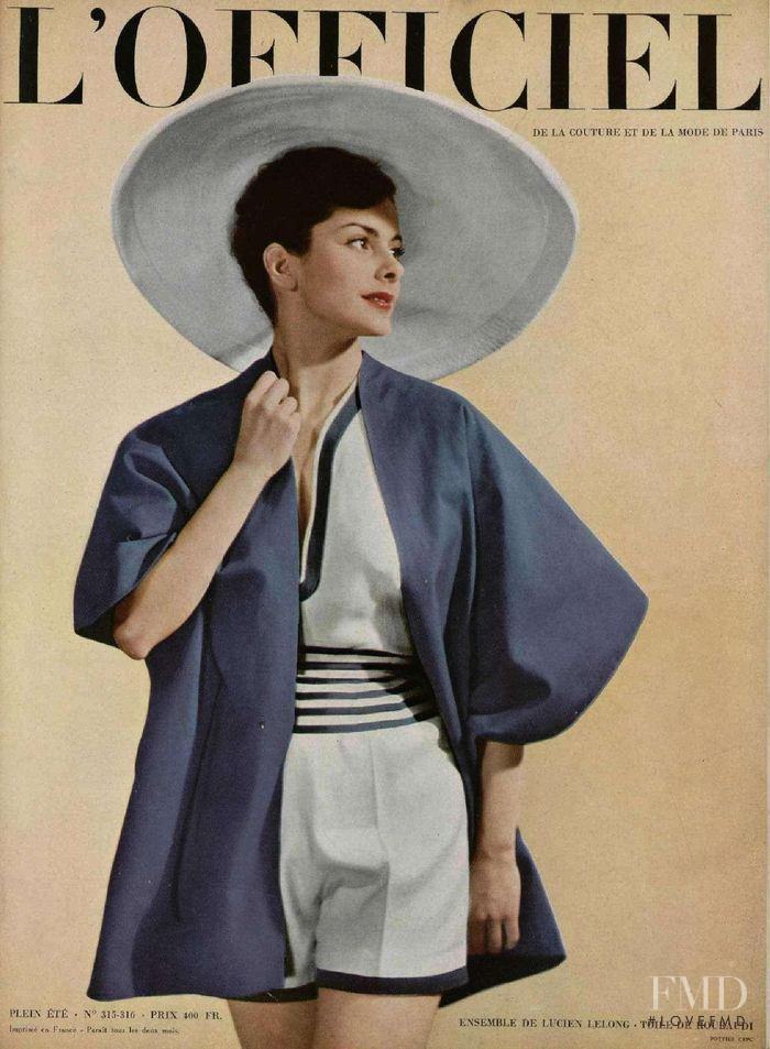featured on the L\'Officiel France cover from May 1948