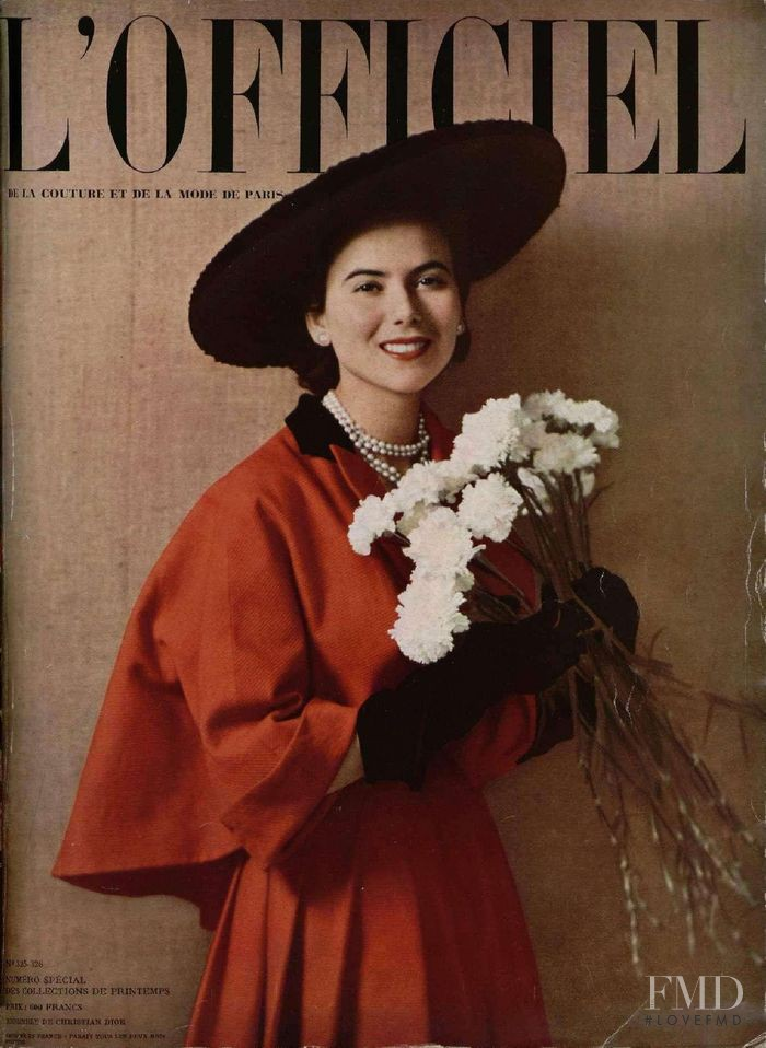 featured on the L\'Officiel France cover from March 1949