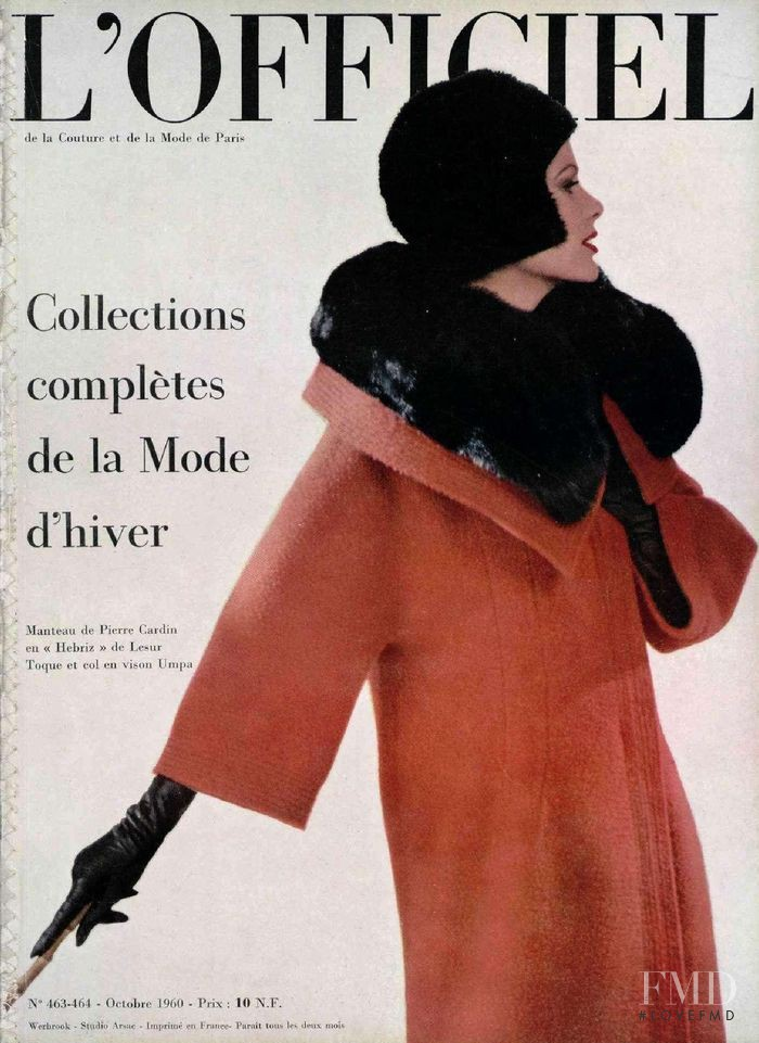 featured on the L\'Officiel France cover from October 1960