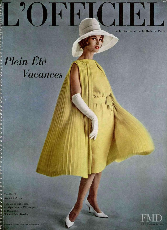 featured on the L\'Officiel France cover from June 1961
