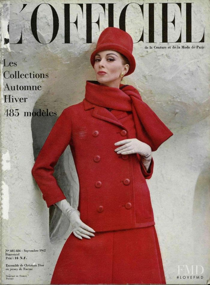 featured on the L\'Officiel France cover from September 1962