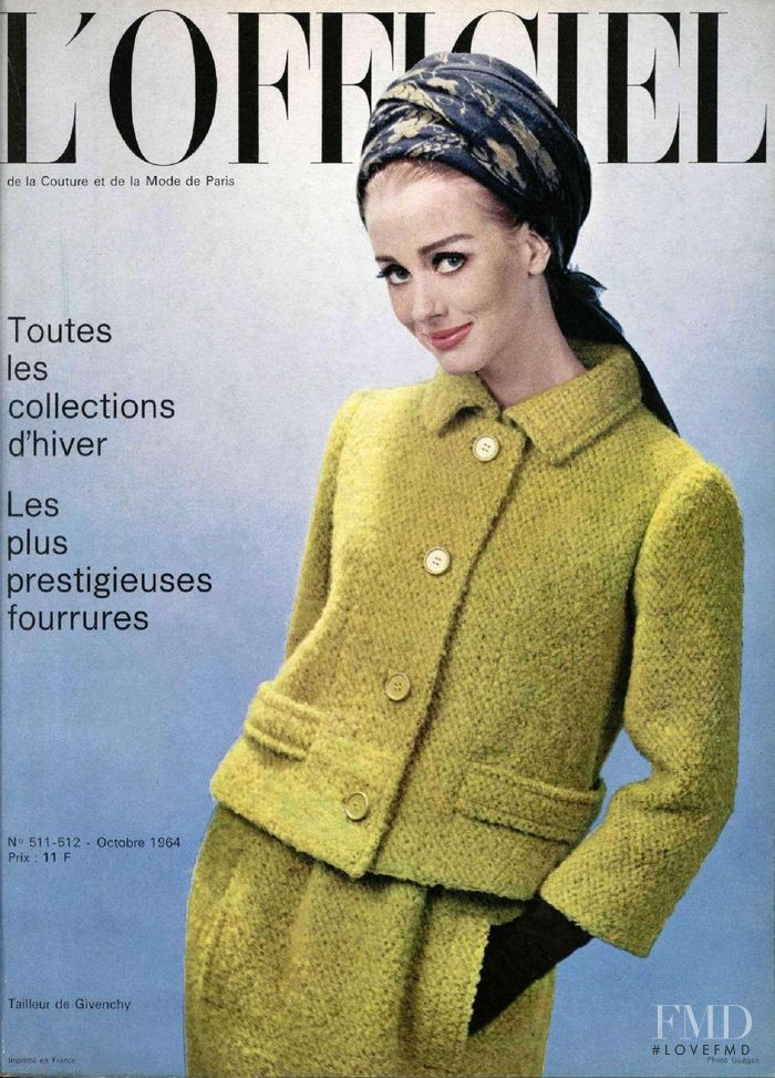 featured on the L\'Officiel France cover from October 1964