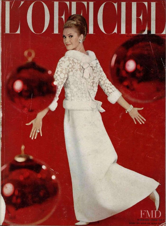 featured on the L\'Officiel France cover from December 1965