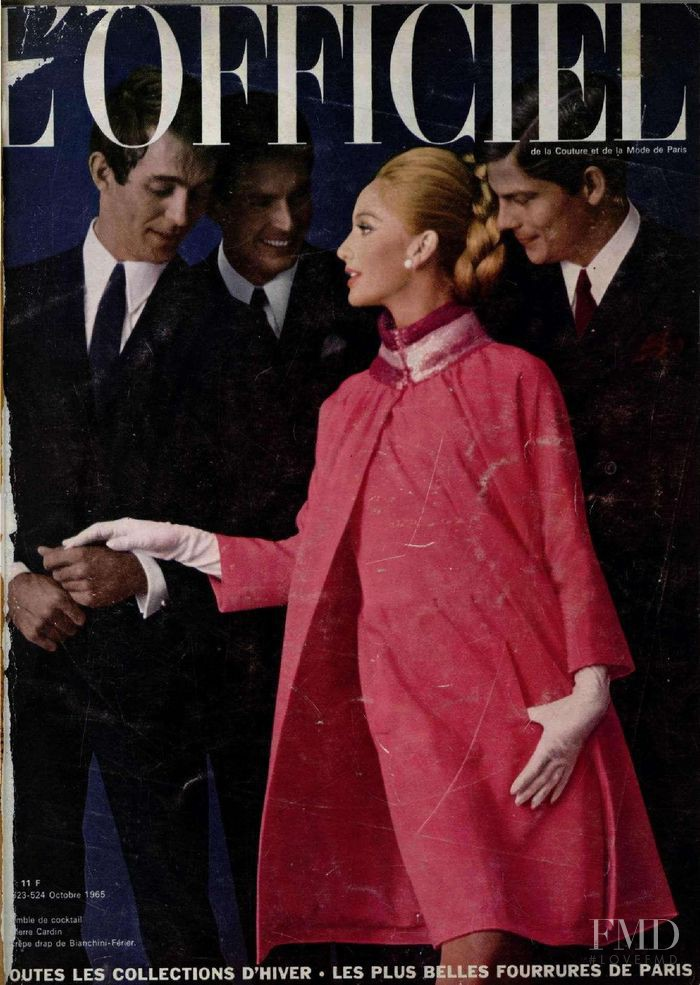 featured on the L\'Officiel France cover from October 1965