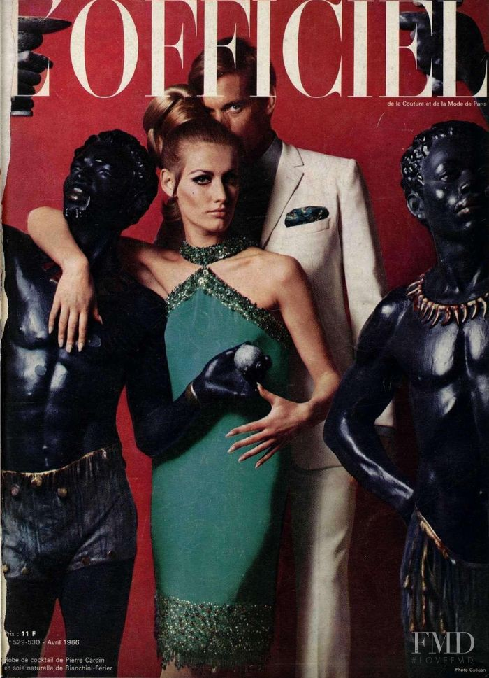featured on the L\'Officiel France cover from April 1966