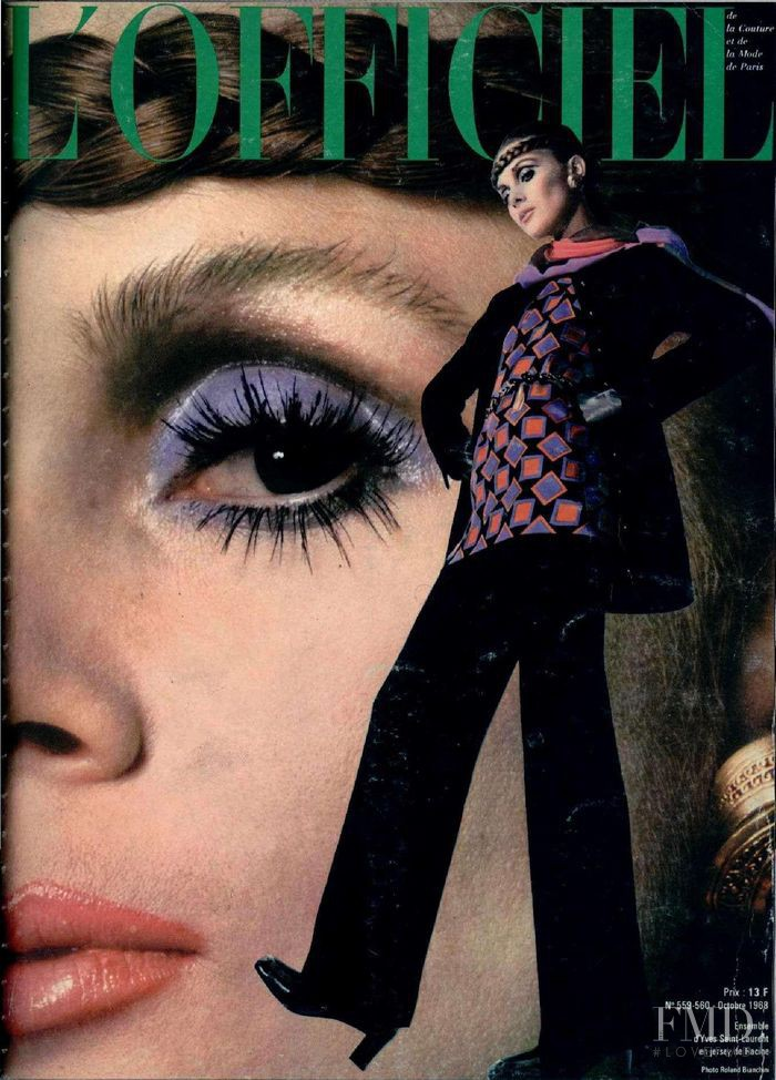 featured on the L\'Officiel France cover from October 1968