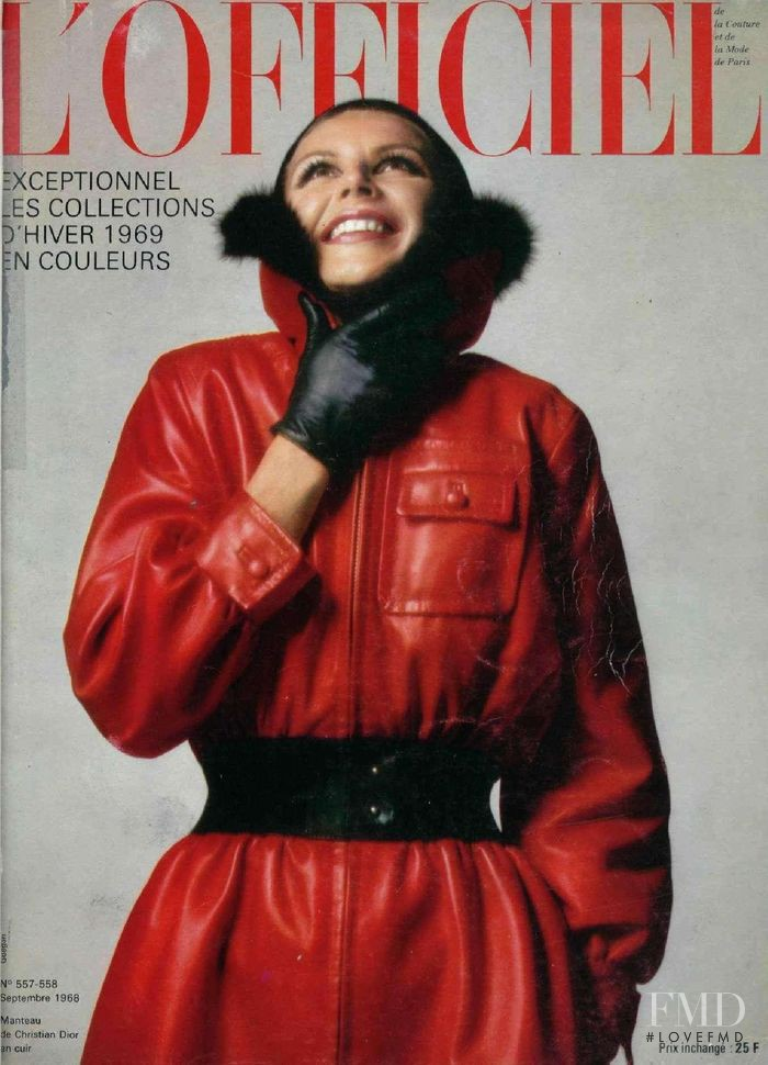featured on the L\'Officiel France cover from September 1968