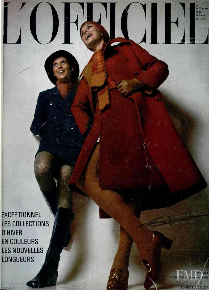 featured on the L\'Officiel France cover from September 1969