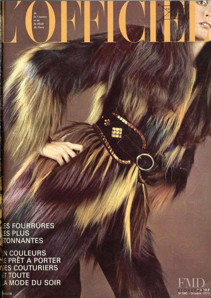 featured on the L\'Officiel France cover from October 1970