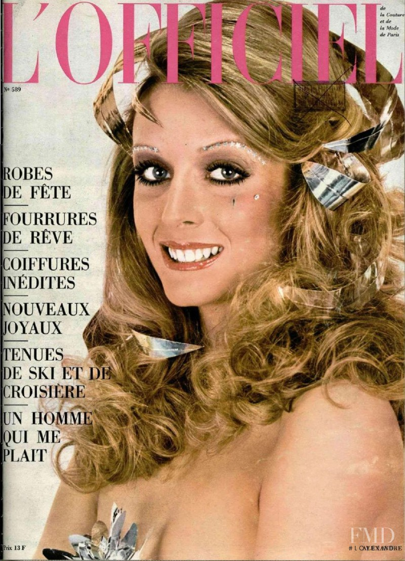 featured on the L\'Officiel France cover from December 1971