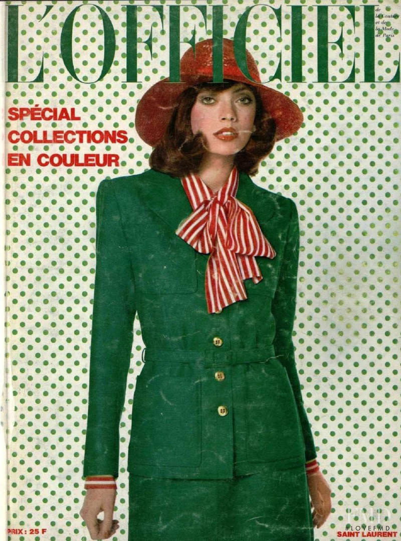 featured on the L\'Officiel France cover from February 1972