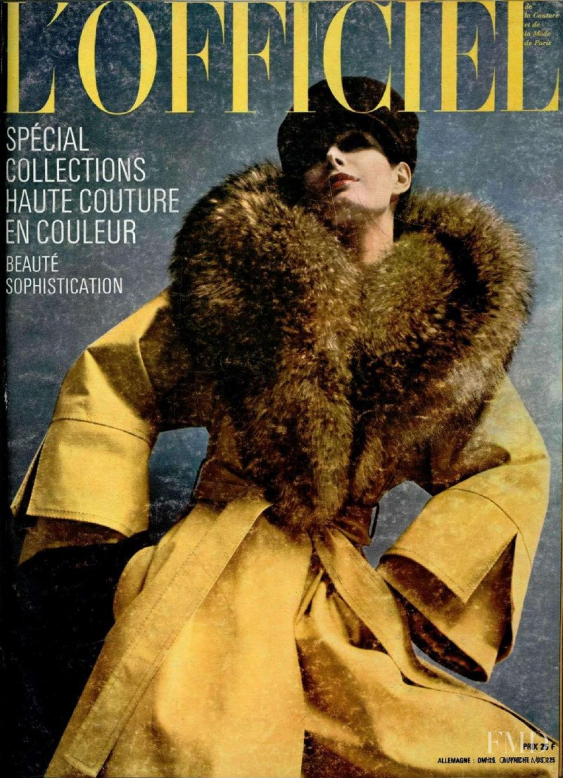 featured on the L\'Officiel France cover from September 1972