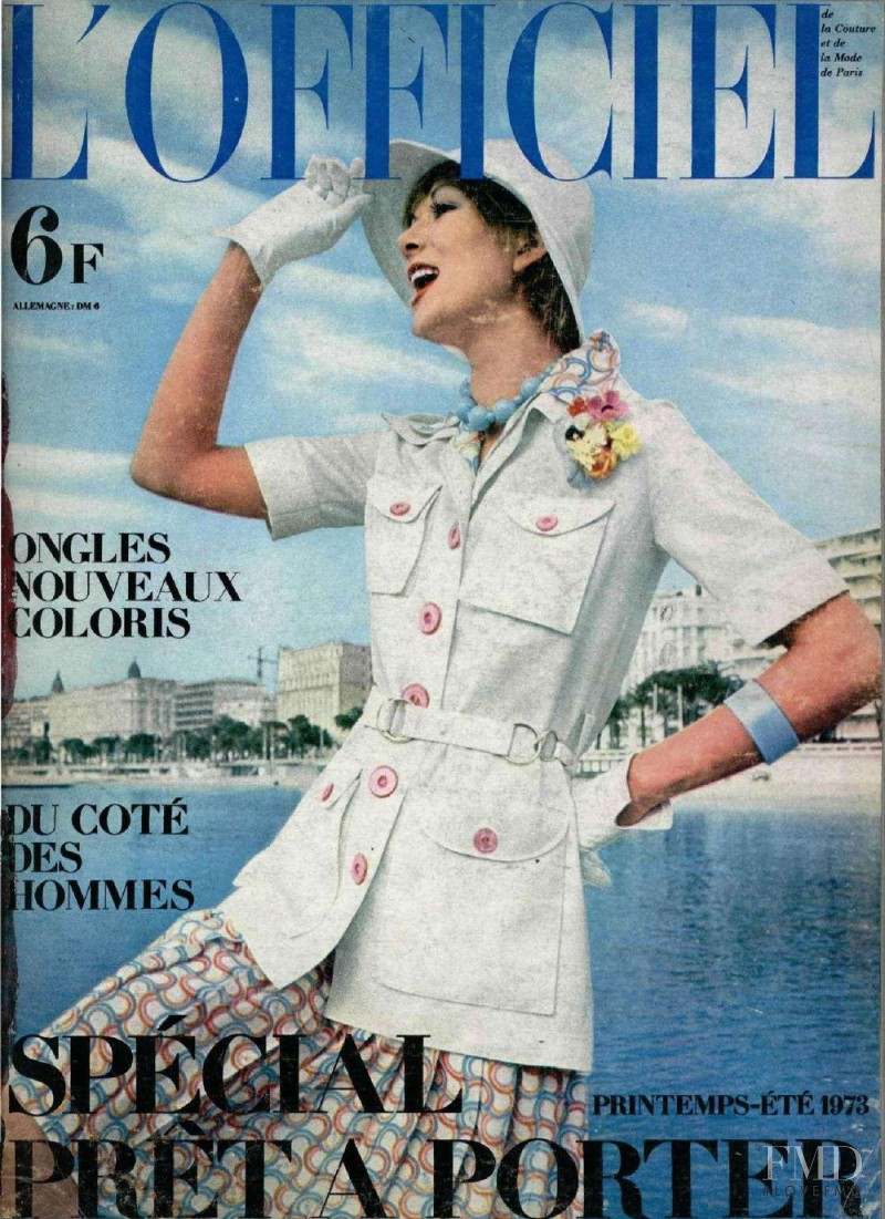 featured on the L\'Officiel France cover from March 1973