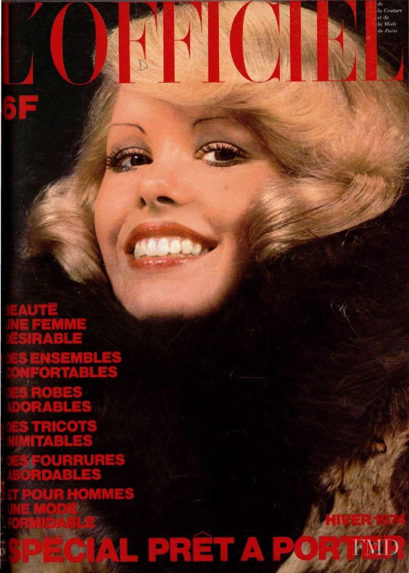 featured on the L\'Officiel France cover from November 1973