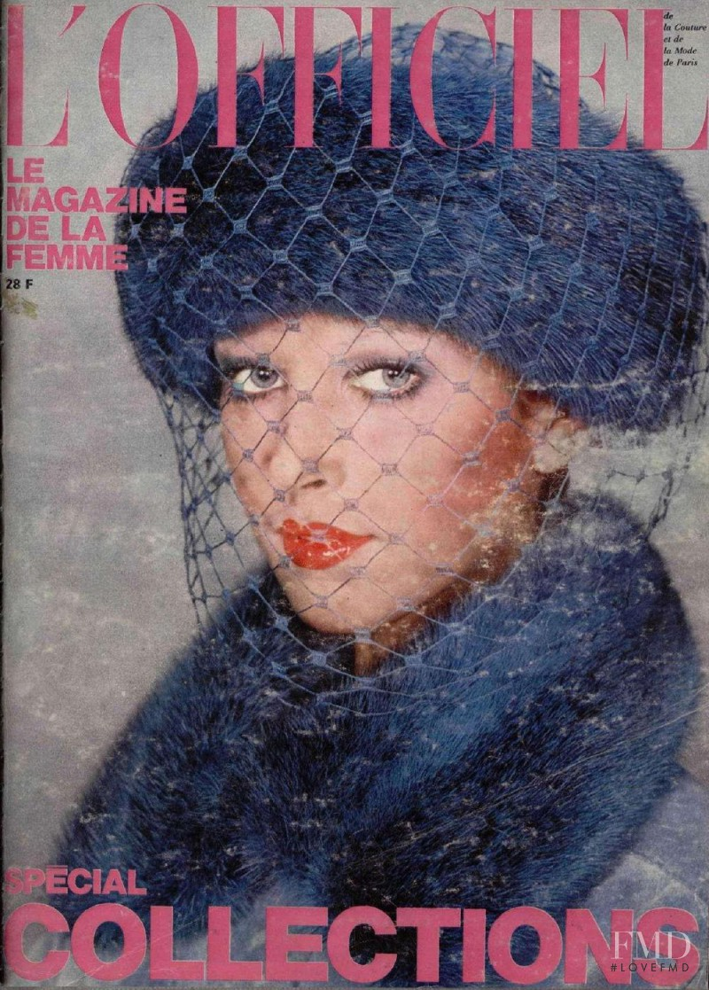 featured on the L\'Officiel France cover from October 1973