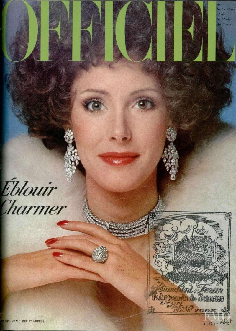featured on the L\'Officiel France cover from December 1974