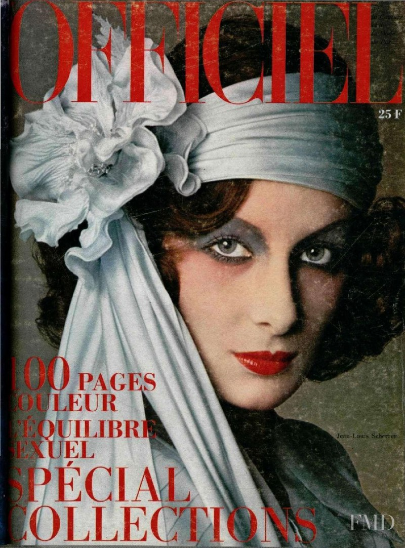 featured on the L\'Officiel France cover from March 1974