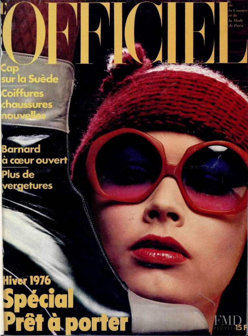 featured on the L\'Officiel France cover from October 1975