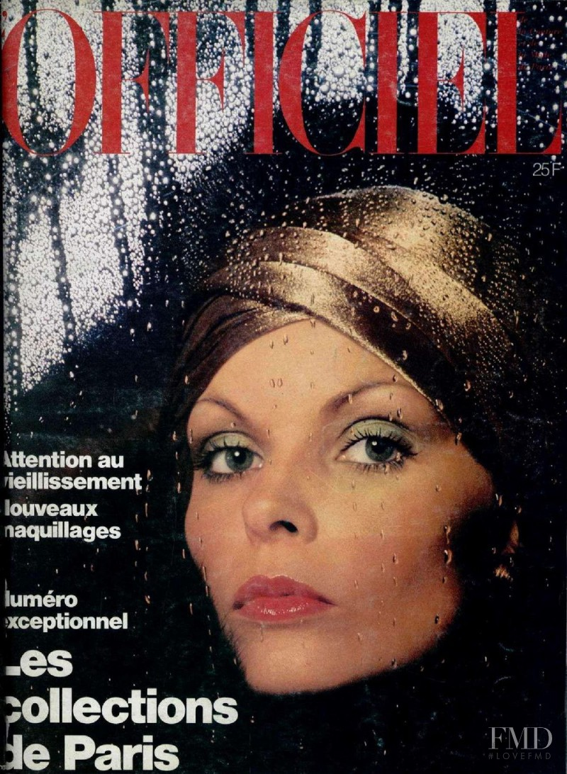 featured on the L\'Officiel France cover from September 1975