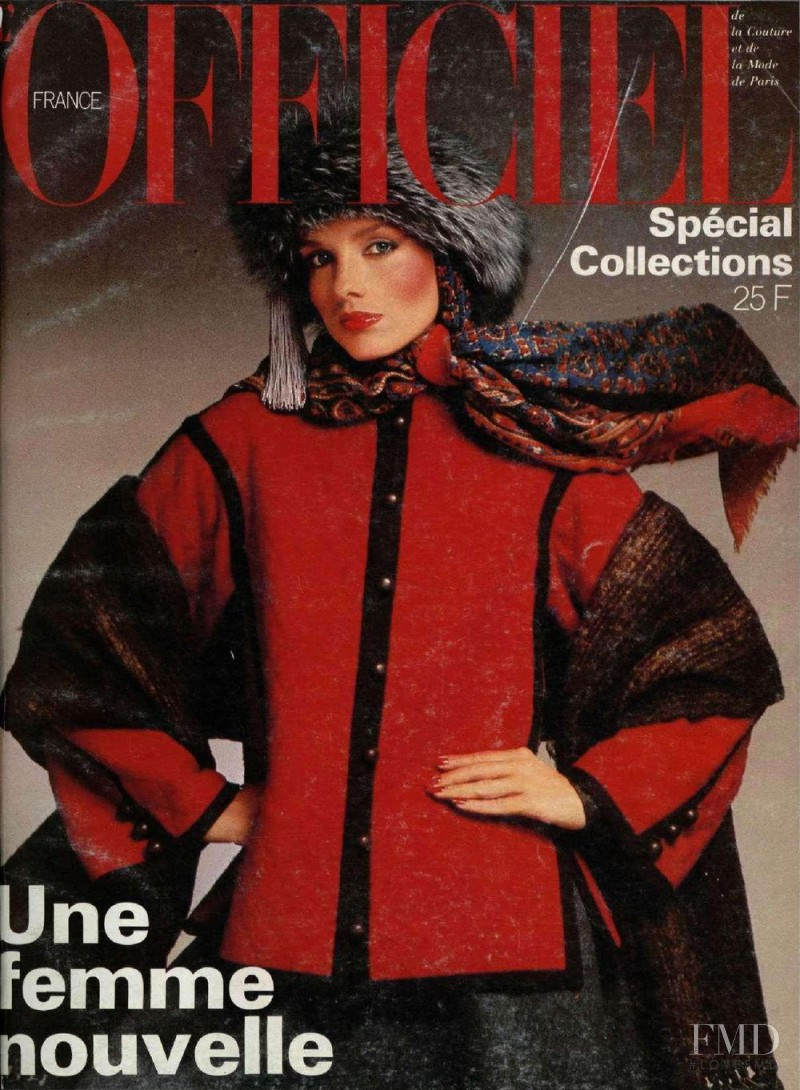 featured on the L\'Officiel France cover from October 1976