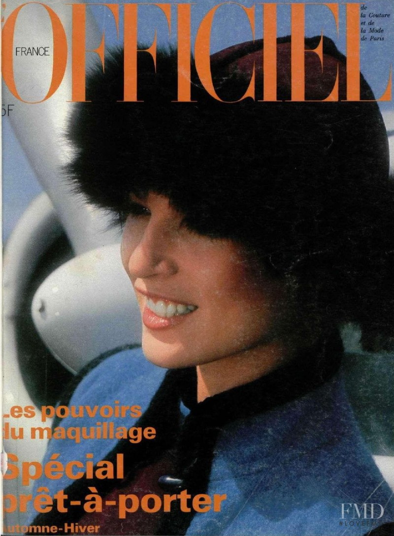 featured on the L\'Officiel France cover from September 1976