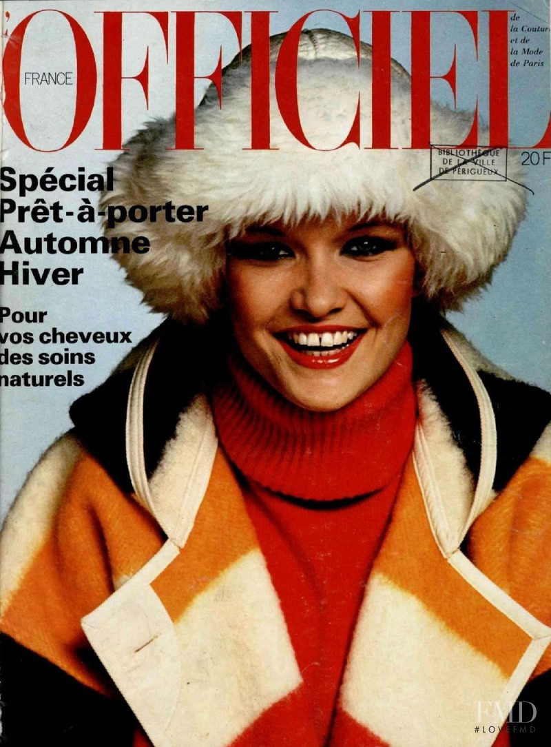 featured on the L\'Officiel France cover from August 1977