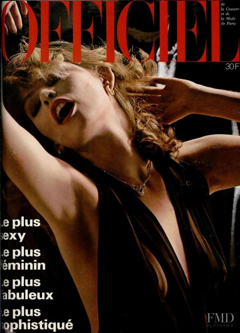 featured on the L\'Officiel France cover from December 1977