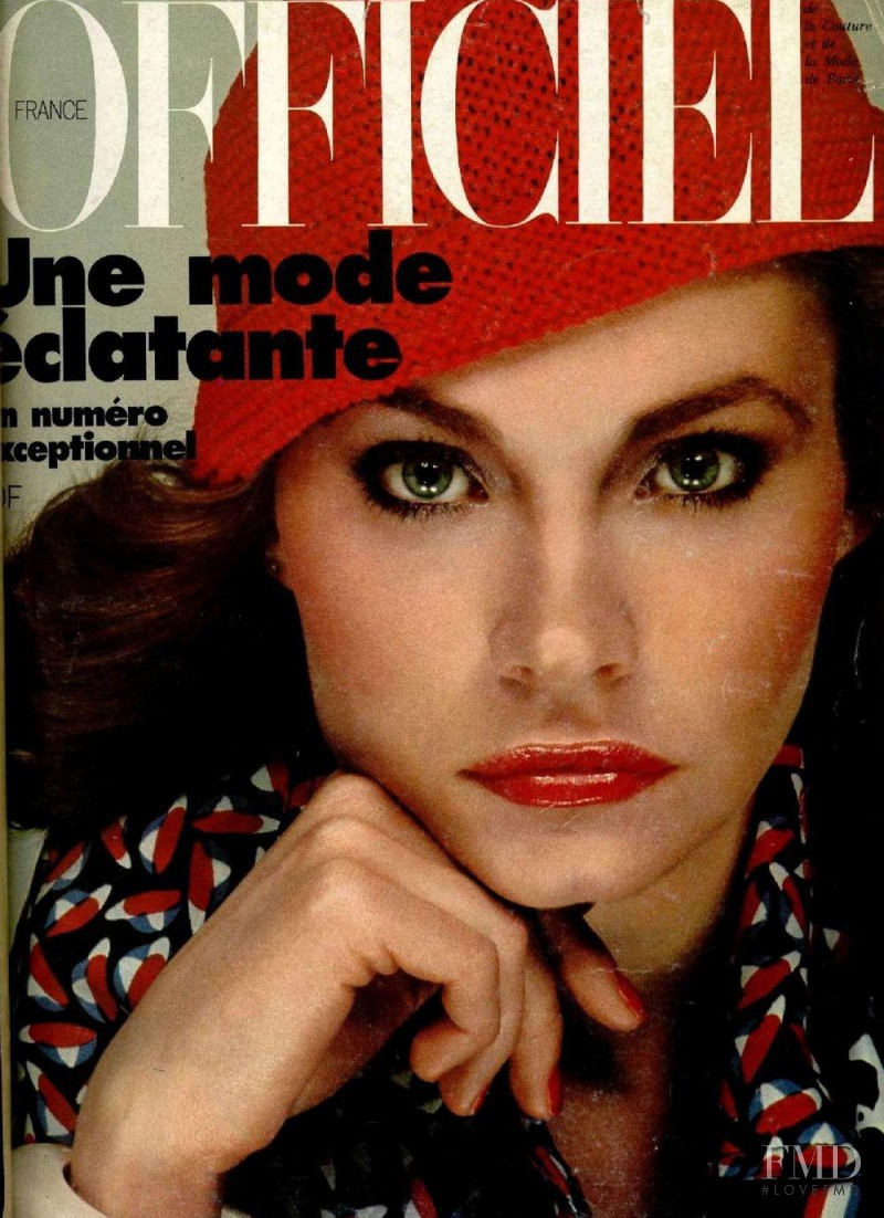 featured on the L\'Officiel France cover from March 1977