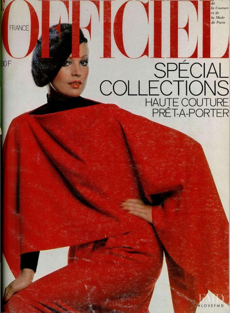 featured on the L\'Officiel France cover from September 1977
