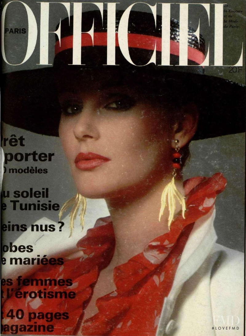 featured on the L\'Officiel France cover from April 1978