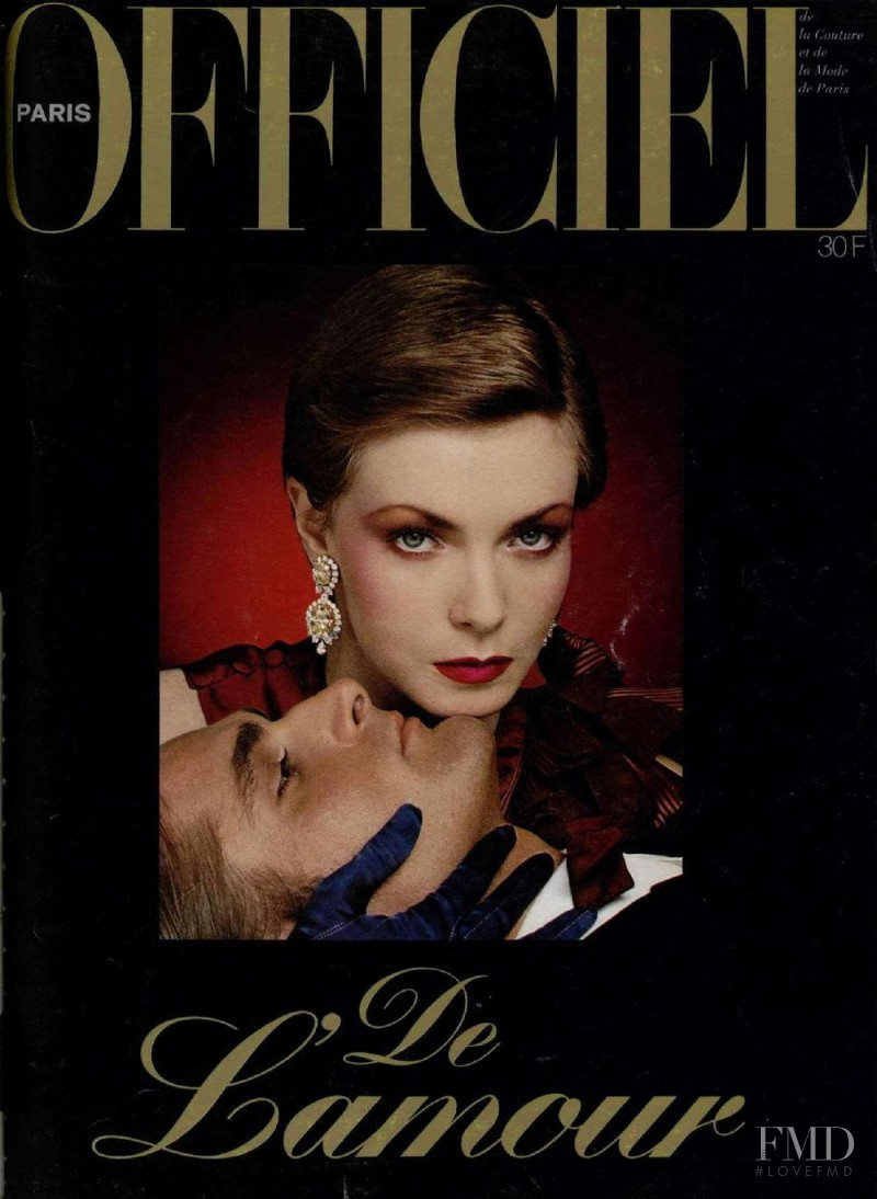 featured on the L\'Officiel France cover from December 1978