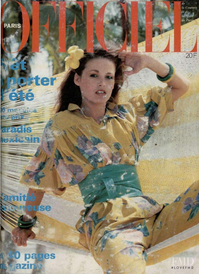 featured on the L\'Officiel France cover from May 1978