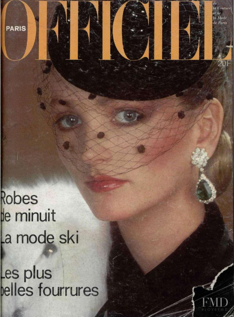 featured on the L\'Officiel France cover from November 1978